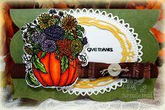 Stamps - Our Daily Bread Designs Fall Flower Pumpkin, Thankful Song, ODBD Custom Pumpkin & Flowers Die