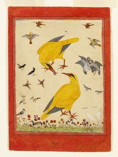 Murshidabad, India (probably, made)  Mughal Empire (made)  Date: ca. 1750 (made)  Artist/Maker: unknown (production)  Materials and Techniques: Painted in opaque watercolour on paper