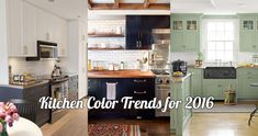 Want the ‪hottest ‪kitchen‬ design and color trends for 2016?? Well then, we have a treat for you!