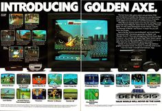 Chrontendo: The Genesis Arrives  Sega of America did manage to get quite a few games on the market very quickly. The Genesis launched with five titles, then released another batch in September, then presumably kept new releases coming throughout the rest of the year. It's hard to say for sure what came out when, but this is the second Genesis ad to appear in Game Pro magazine: