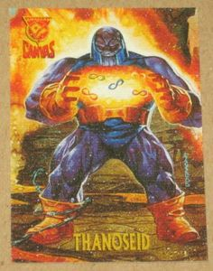 Amalgam (Fleer/SkyBox 1996) Canvas Card #5 Thanoseid EX