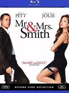 Mr. and Mrs. Smith (Blu-ray Disc, 2009) Brad Pitt, Angelina Jolie movie 1 20 product reviews