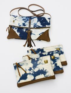 so many cute ideas here! Made By Hank brand zipper pouches :)