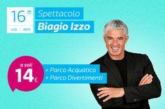 Biagio Izzo a Magic World per il Pizza in Festa!
