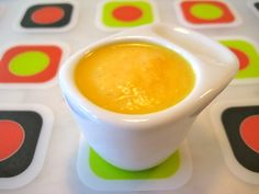 Cantaloupe Cream: Cantaloupes' high water content means that when the fruit is blended with yogurt , it yields a rich, creamy texture. Source: Weelicious