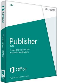 Microsoft Publisher 2013 Key Card (No Disc) by Microsoft Software, http://www.amazon.com/dp/B009SPK1DY/?tag=newestcellp01-20&src=trafficsource1