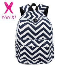 7f1810546b573 NEW 2016 Youth girl schoolbag preppy striped female shoulder bag mochilas  escolares femininas high quality women