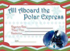 Polar Express Invitation Digital Automatic Download on Etsy, $1.50