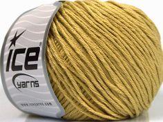 Fiber Content 60% Bamboo 40% Cotton Light Olive Green Brand Ice Yarns fnt2-50544