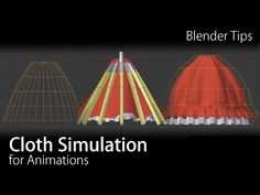 blender Quick Tips - Cloth Simulation for Animations - YouTube