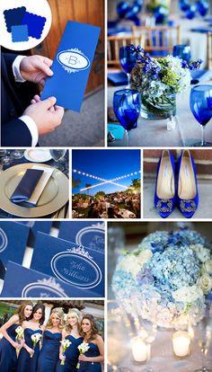 Cobalt Blue - classic wedding colors