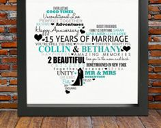 Personalized 20th Anniversary gift 20 years by BlingPrints                                                                                                                                                     More