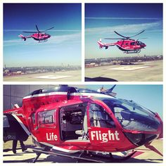 Life Flight - Memorial Hermann-Texas Medical Center. Photo by _morgaaaaaan