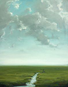 "Cleber Stecei - Cape Cod Artist ""In the Distance"""