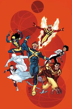 Bulky Beast and the X Men. Love that they have been worked into ongoing comics.