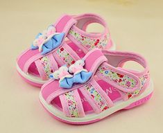 Toddler and kids girls sandals $7.66 from Aliexpress