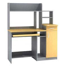 Wood Desk, Window Treatments, Diy Furniture, Shelf, Windows, Bedroom, Table, Design, Decor