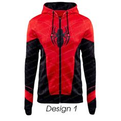 Superhero Spiderman Far From Home Costume Hoodie Spiderman Hoodie, Superhero Spiderman, Marvel Anime, Marvel Clothes, Comic Clothes, Men Clothes, Custom Clothes, Hoodie Jacket, Man Jacket