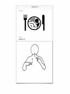 Makaton Makaton Printables, Makaton Signs, Visual Timetable, 1 Symbol, British Sign Language, Bsl, Word Out, Spoken Word, Nursery Rhymes
