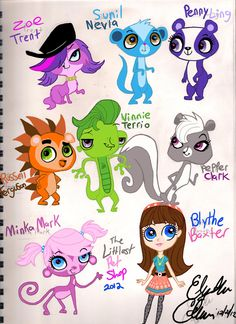 Image result for littlest pet shop characters names