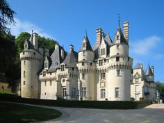 Chateau Usse chateau, France