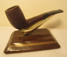 Barling Londoner BB&S Challenger Half Bent Flat Billiard Estate Briar Pipe #5139
