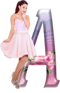 Alfabeto con Ariana Grande. | Oh my Alfabetos!