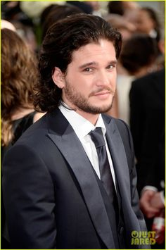 Kit Harington - Emmy Awards Red Carpet 2013