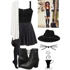 Untitled #296 by starmaterial54 on Polyvore featuring polyvore, fashion, style, Element, Joie, Hue, Madden Girl and By Malene Birger