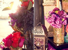 Princess Jasmine themed wedding. The colors and flowers are so beautiful