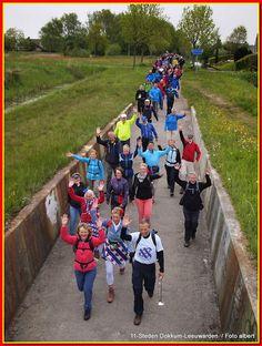 5e Etappe 11-Stedentocht Dokkum-Leeuwarden 28,5km