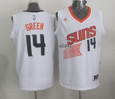 eedee6d00 NBA Jerseys Phoenix Suns  14 green white Jerseys Gerald Green