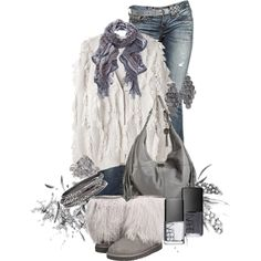 UGGS and Fringe - Polyvore