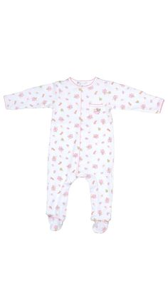 Magnolia Baby Mouse Print Footie - Baby Girl