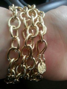 Mialisia VersaStyle Jewelry ~AVONDALE as a Bracelet~ Only $39 http://lifetimewarranty.mialisia.com VersaStyle=INFINITE Possibilities!