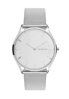 Skagen HOLST - Watch - silver-coloured for with free delivery at Zalando Skagen, Silver Color, Omega Watch, Bracelet Watch, Watches, Accessories, Tic Tac, Form, Free Delivery