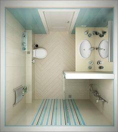 Bathroom Design, Small Bathroom Ideas: Pick The Best Small Bathroom Designs Ideas. Small Bathroom Remodel On A Budget Small Bathroom Layout, Simple Bathroom, Modern Bathroom, Master Bathroom, Bathroom Pink, Narrow Bathroom, Bathroom Colors, Small Bathroom Plans, Small Shower Room