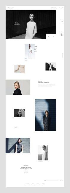 ØHLIN - B on Behance #fashion #web #design #layout