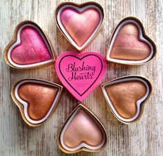 GIVEAWAY: WIN THE ENTIRE MAKEUP REVOLUTION I ♥ MAKEUP BLUSHING HEARTS COLLECTION