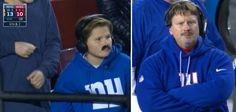 What's really funny Kid imposter had the exact same plays written down on his score board. Manly Things, G Man, Beer Humor, New York Giants, Funny Kids, Really Funny, Plays, Adidas Jacket, Nfl
