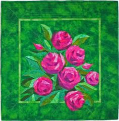 English Roses: I made this paper piecing quilt from a pattern called English Roses by Eileen Sullivan of The Designers Workshop. I love working with her quilt patterns.