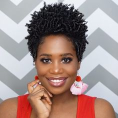 These 19 Short Natural Hairstyles Are Totally Trending