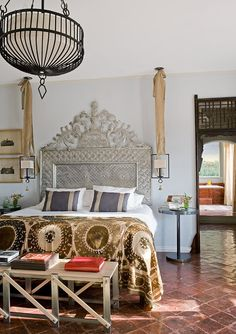 bohemian bedroom amazing headboard