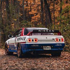 Nissan Skyline Gtr R32, R32 Skyline, R32 Gtr, Tuner Cars, Jdm Cars, Car Tuning, Dream Cars, The Incredibles, Car Pics