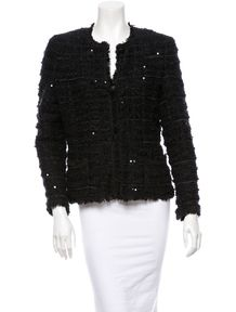 Chanel Sequin Woven Jacket