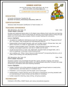 Examples Of Effective Resumes  Resume Template