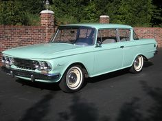 Little Nash Rambler...first car I ever owned which was my Dad's old car.