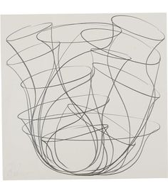 Tony Cragg, graphite on paper 1998  I don't know why I like this so much. Maybe the energy of the marks? It's nothing, really...just really cool markmaking.