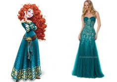 45 Fabulous Prom Dresses Inspired By Your All-Time Favorite Disney Characters
