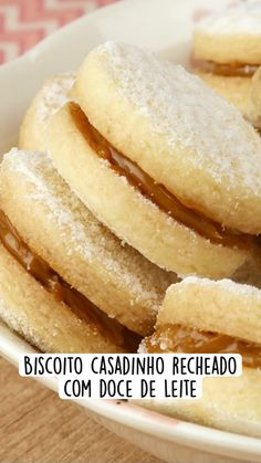 Delicious Cookie Recipes, Sweet Recipes, Dessert Recipes, Yummy Food, Food Videos, Food Network Recipes, Cooking Recipes, Love Food, Donuts